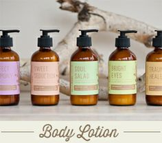 Soaps, lotions, candles, and oils by Molly Muriel