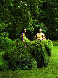 John Galliano's  in Vogue