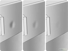 Remove A Dent From Stainless Steel Refrigerator Step 7 Jpg