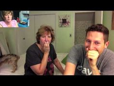 Son Records Mother Sleepwalking, Then Shows Her the Footage and Records Her Reaction