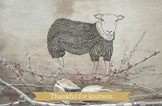 This year (and every year), we are thankful to have all of you! We wish you all a cozy Thanksgiving. #thankfulforknitters