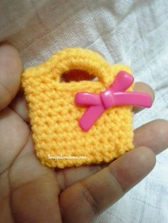 My crochet - miniature bag