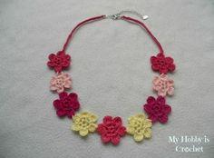 Flower Necklace Hawaiian Dream #EmbroideryThreads