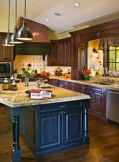 www.interiordesigncolorado.net ~ rustic country kitchen