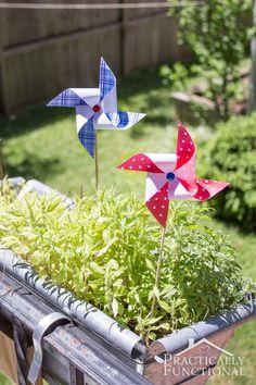 Make your own pinwheels | Fun summer crafts for kids