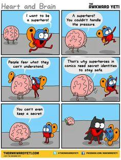 """I want to be a superhero!"""