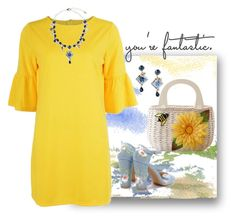 """""""You're Fantastic 💛"""" by easy-dressing ❤ liked on Polyvore featuring Dolce&Gabbana"""