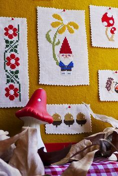 Cross Stitch: The quintessential Toadstool | Flickr - Photo Sharing!