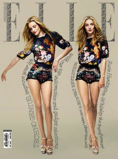 @Dolce & Gabbana for ELLE cover! gorgeous