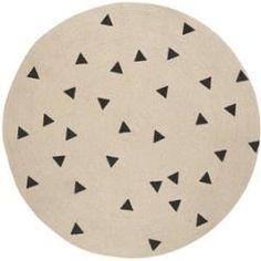 Ferm Living matta rund triangle