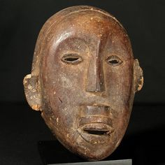 Makua Mask : Collected by Jean Pierre Hallet