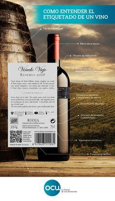 No te quedes en la poesía y aprende a fijarte en lo verdaderamente importante cuando leas la #etiqueta de una botella de #vino.