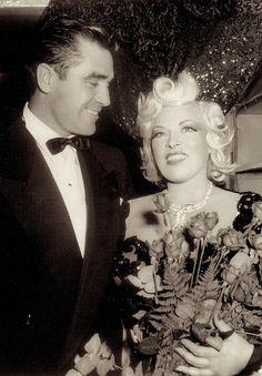 Steve Cochran and Mae West Old Hollywood Glamour, Classic Hollywood, Star Wars, Mae West, Night Club, Bad Boys, Cinema, Dance, Actors