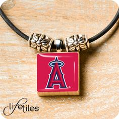 California Angels LifeTiles Necklace