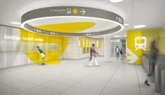 Solntsevo Metro Station in Moscow by Nefa Architects