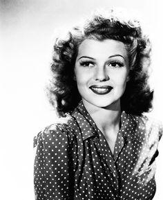 Silver Screen Nostalgia Rita Hayworth
