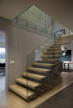 Design by Bryndis Eva. Floating stairs