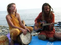hippies in Greece
