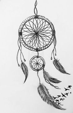 Dreamcatcher with birds