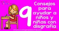 Disgrafía: 9 Consejos para ayudar a niños con disgrafía + programa completo para la  prevención-corrección