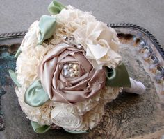 Fabric Flower Bouque
