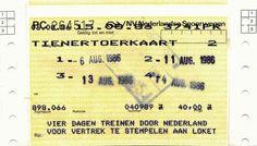 Tienertoer 1986.