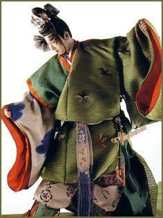 Omamori - Japanese Amulets: Ishoo Costume Dolls