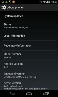 It's been almost 10 days since I updated my #Nexus4 with the all new official #KitKat 4.4.3! Time for an in depth review!   The UI works smoothly no lag whatsoever, but few things I've noticed!   Possibly glitch!  1) there is a sleek gap btwn the keypad n nav bar below! Though it doesn't effect the performance but why? 2) when u exit any app by pressing back button, b4 u go to the home screen it'll show the screen of ur earlier (random) used app for a sec!! Possibly a glitch i guess. 3)…
