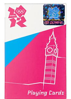 London 2012 Olympic Games Playing Cards  www.johnlewis.com