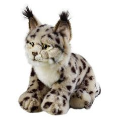 Lelly National Geographic Lynx Plush Doll
