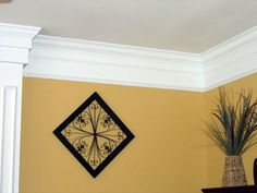 Crown molding ideas.