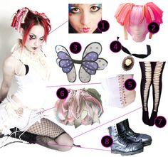DIY The Look: Emilie Autumn.....i love the bag!
