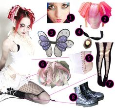 DIY The Look: Emilie Autumn.....i love the bag!