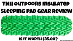 TNH Outdoors Sleeping Pad Gear Review