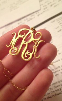 Monogram. Would love one of these!