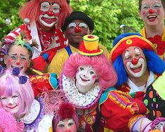 One of my favorite clowns... Pricilla Mooseburger and friends.