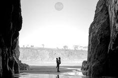 Hace un año, la #preboda de Alba y Dani en la bonita #playa de #Barayo, #Asturias, #Navia #couple #pareja #love #savethedate #beach #seaside