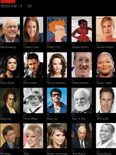 More famous faces with answers | Pub quiz questions, Quiz questions, answers, Free pub quiz