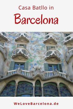 cb1c86d856 Casa Batllo Barcelona ♥ das Haus der Knochen von Antonio Gaudi in Barcelona  Lohnt sich
