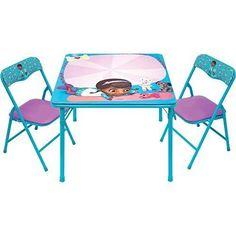 Doc McStuffin Erasable Activity Table Set with 3 Markers
