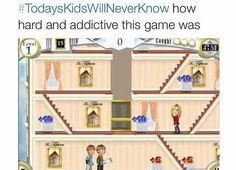 #TodaysKidsWillNeverKnow hoe hard and addictive this game was! #ChildhoodMemories #SuiteLifeOfZackAndCody