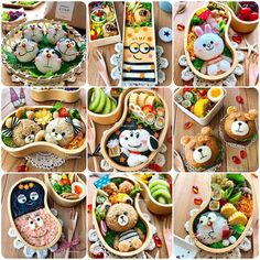 {FD9E9F4E-D445-4019-B573-9F6AB4CB20F0} Pan Sin Gluten, Bento Recipes, Lunch Box Recipes, Cute Bento Boxes, Bento Box Lunch, Japanese Lunch Box, Japanese Food Art, Picnics Románticos, Snack Box