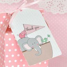 Pink Noah's Ark themed party package @julierosepartyco £38.95