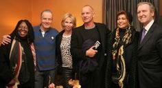 Photo Flash: Whoopi Goldberg, Sting, Janet Langhart Cohen and More Visit Bryan Cranston at ALL THE WAY - eWallstreeter