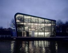 ARCHITECTURE CENTRE AMSTERDAM (ARCAM) by Rene van Zuuk Architekten B.V.
