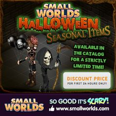 Get your Grim Reaper Scythe and Halloween Balloons now!