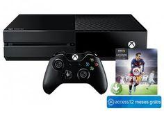 Console Xbox One 1TB com Controle Microsoft - Fifa 17 via Download e 1 Ano de EA Access-de R$ 2.899,00 por R$ 1.745,00   em até 10x de R$ 174,50 sem juros no cartão de crédit