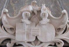 Familiewapen in de Grote Kerk van Almelo.