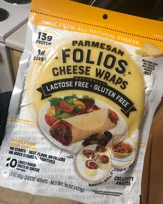 Costco Is Selling Cheese Wraps, And Cutting Carbs Has Never Been Easier Folios Cheese Wraps are lactose free, gluten free, low-carb alternatives to tortillas. They are available at Costco and other retailers. Low Carb Keto, Low Carb Recipes, Diet Recipes, Keto Carbs, Cooker Recipes, Comida Keto, Cheese Wrap, Carb Alternatives, Dairy Free