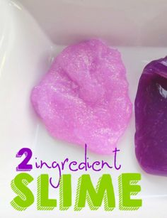 How to Make 2 Ingredient SLIME - Raining Hot Coupons